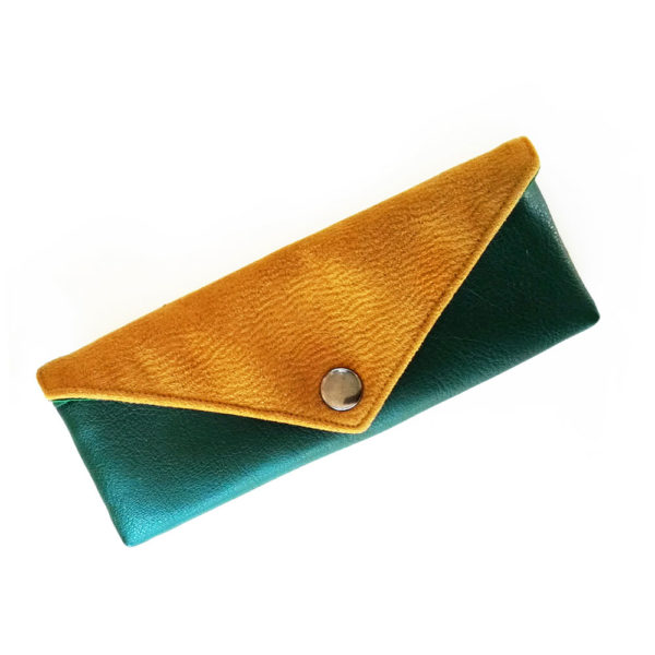 Sunglasses case vegan eyeglass case