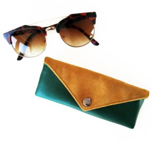 Sunglasses case designer glasses case