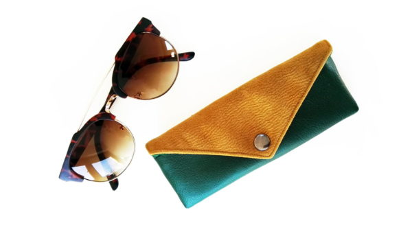 Sunglasses case designer glasses case vegan