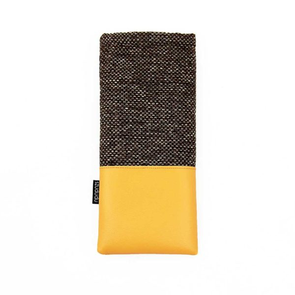 Eyeglass case yellow glasses case