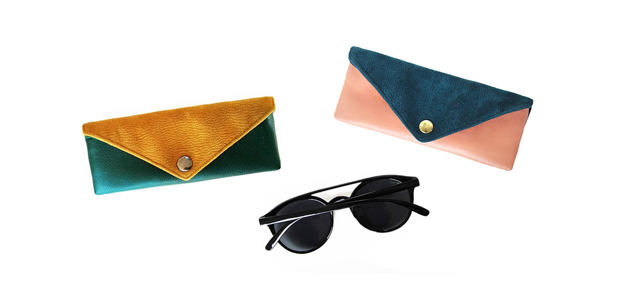 Sunglasses-case glasses case